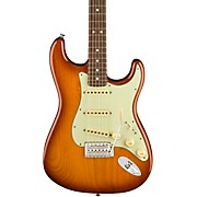 American Performer Stratocaster Rosewood Fingerboard Electric Guitar Honey Burst