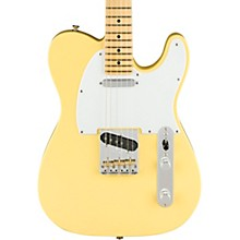 American Performer Telecaster Maple Fingerboard Electric Guitar Vintage White