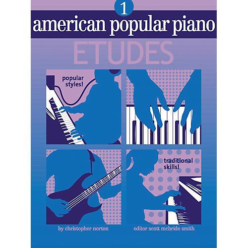 NV Group American Popular Piano Etudes 1 Book/CD