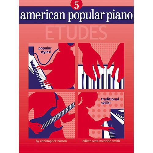 NV Group American Popular Piano Etudes 5 Book/CD