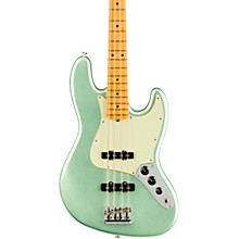 American Professional II Jazz Bass Maple Fingerboard Mystic Surf Green