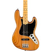 American Professional II Jazz Bass Roasted Pine Maple Fingerboard Natural