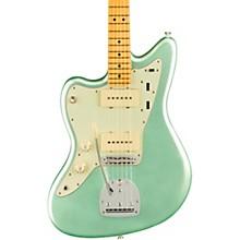 American Professional II Jazzmaster Maple Fingerboard Left-Handed Electric Guitar Mystic Surf Green