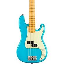 American Professional II Precision Bass V Maple Fingerboard Miami Blue