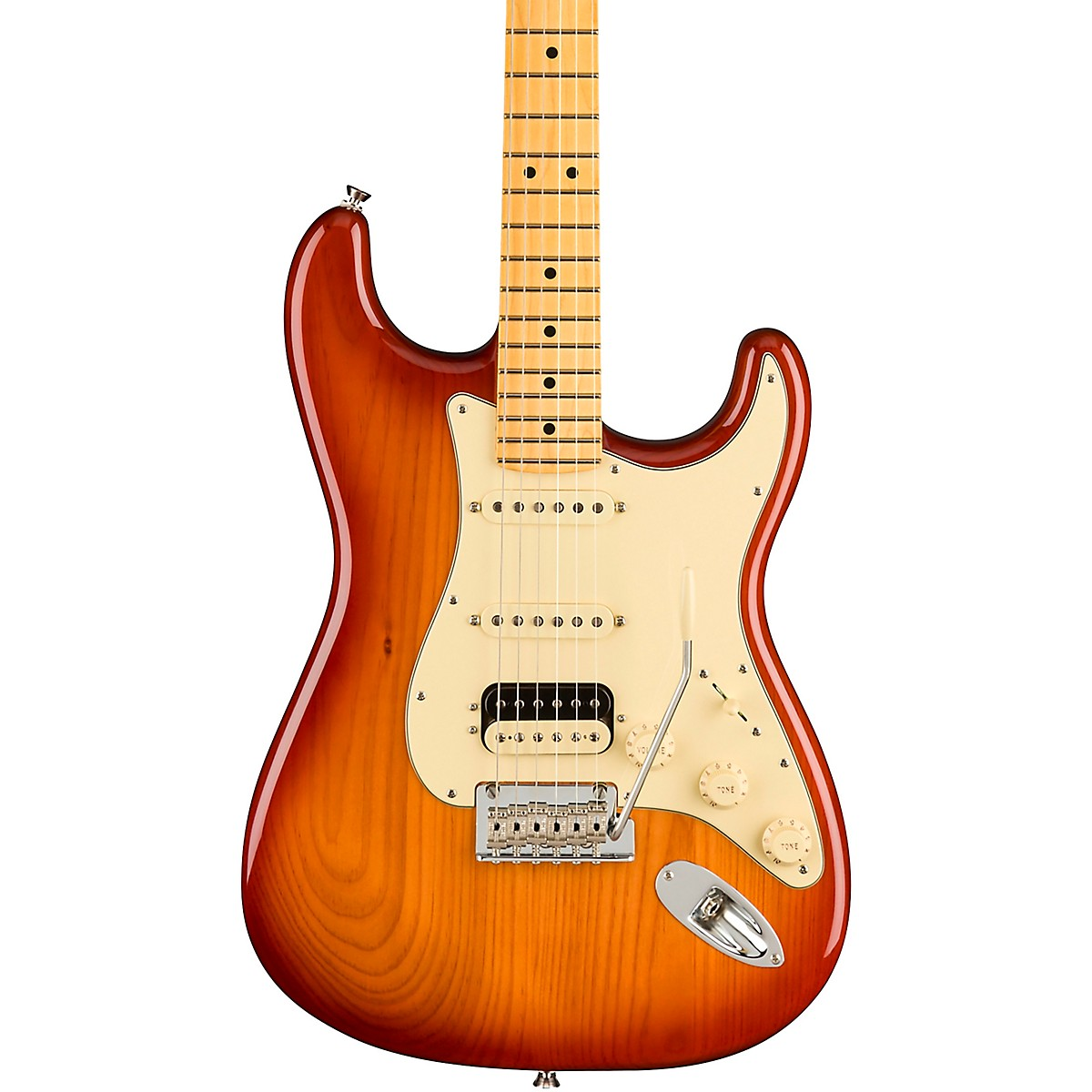 Fender American Professional II Roasted Pine Stratocaster HSS Electric Guitar