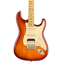 American Professional II Roasted Pine Stratocaster HSS Electric Guitar Sienna Sunburst