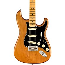 American Professional II Roasted Pine Stratocaster Maple Fingerboard Electric Guitar Natural