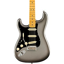 American Professional II Stratocaster Maple Fingerboard Left-Handed Electric Guitar Mercury