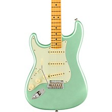 American Professional II Stratocaster Maple Fingerboard Left-Handed Electric Guitar Mystic Surf Green