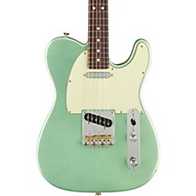 American Professional II Telecaster Rosewood Fingerboard Electric Guitar Mystic Surf Green