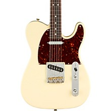American Professional II Telecaster Rosewood Fingerboard Electric Guitar Olympic White