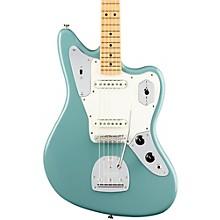 American Professional Jaguar Maple Fingerboard Electric Guitar Sonic Gray