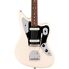 American Professional Jaguar Rosewood Fingerboard Electric Guitar Olympic White