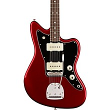 American Professional Jazzmaster Rosewood Fingerboard Electric Guitar Level 2 Candy Apple Red 190839667786