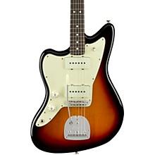 American Professional Jazzmaster Rosewood Fingerboard Left-Handed Electric Guitar 3-Tone Sunburst