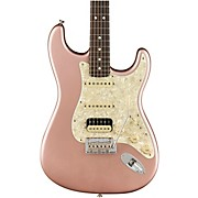 American Professional Stratocaster HSS Rosewood Neck Limited Edition Electric Guitar Rose Gold