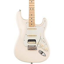 American Professional Stratocaster HSS Shawbucker Maple Fingerboard Electric Guitar Level 2 Olympic White 190839761897