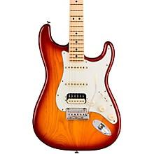 American Professional Stratocaster HSS Shawbucker Maple Fingerboard Electric Guitar Sienna Sunburst