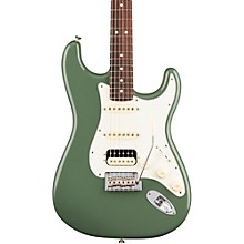 American Professional Stratocaster HSS Shawbucker Rosewood Fingerboard Electric Guitar Antique Olive