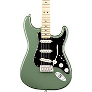 American Professional Stratocaster Maple Fingerboard Electric Guitar Antique Olive