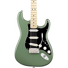 American Professional Stratocaster Maple Fingerboard Electric Guitar Level 2 Antique Olive 190839697622