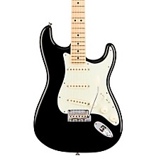 American Professional Stratocaster Maple Fingerboard Electric Guitar Level 2 Black 190839461896