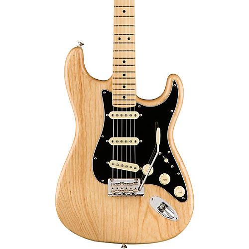 fender american professional stratocaster maple fingerboard electric guitar natural guitar center. Black Bedroom Furniture Sets. Home Design Ideas