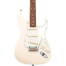 American Professional Stratocaster Rosewood Fingerboard Electric Guitar Olympic White