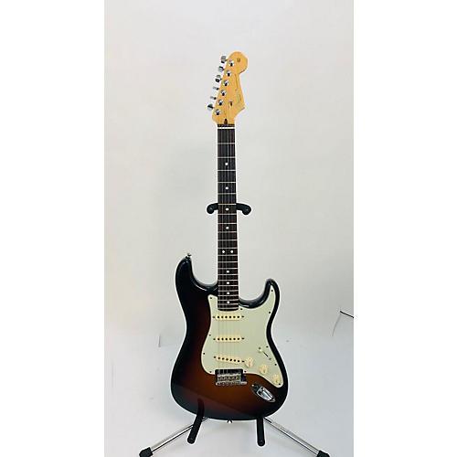 used fender american professional stratocaster sss solid body electric guitar vintage sunburst. Black Bedroom Furniture Sets. Home Design Ideas