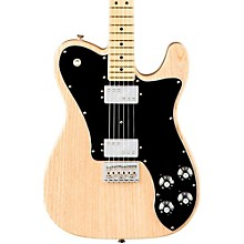 American Professional Telecaster Deluxe Shawbucker Maple Fingerboard Electric Guitar Natural