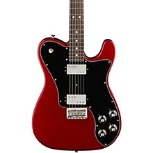 American Professional Telecaster Deluxe Shawbucker Rosewood Fingerboard Electric Guitar Candy Apple Red