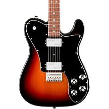 American Professional Telecaster Deluxe Shawbucker Rosewood Fingerboard Electric Guitar Level 2 3-Color Sunburst 190839911353