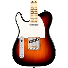 American Professional Telecaster Left-Handed Maple Fingerboard Electric Guitar 3-Color Sunburst