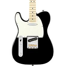 American Professional Telecaster Left-Handed Maple Fingerboard Electric Guitar Black