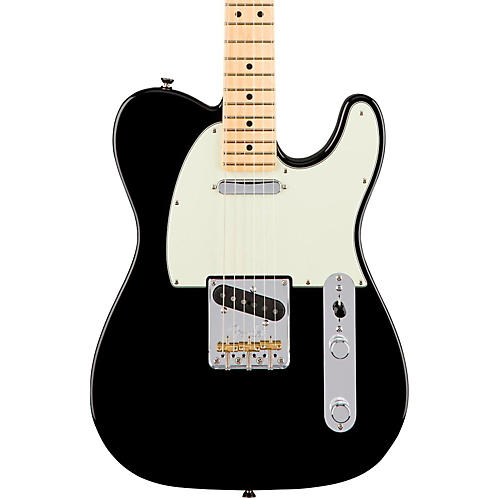 fender american professional telecaster maple fingerboard electric guitar black guitar center. Black Bedroom Furniture Sets. Home Design Ideas