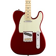 American Professional Telecaster Maple Fingerboard Electric Guitar Candy Apple Red