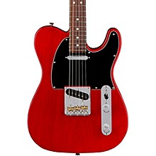 American Professional Telecaster Rosewood Fingerboard Electric Guitar Level 2 Transparent Crimson 194744050053