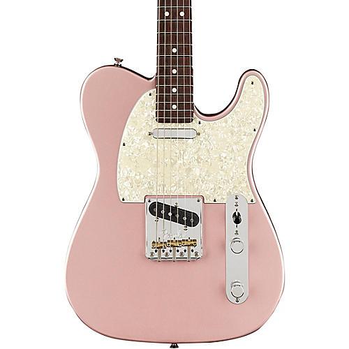 fender american professional telecaster rosewood neck limited edition electric guitar rose gold. Black Bedroom Furniture Sets. Home Design Ideas