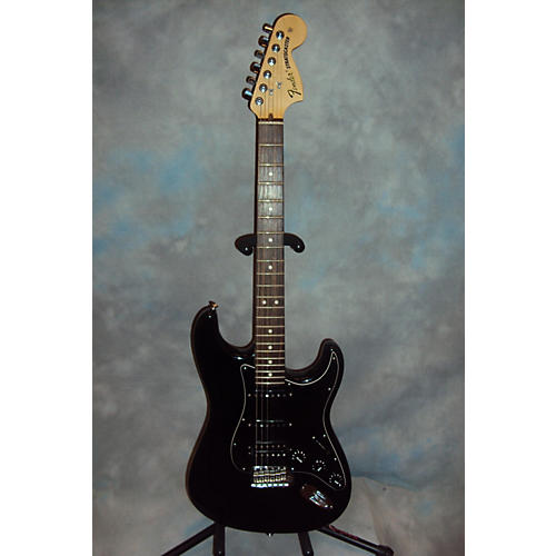 Fender American Special Stratocaster HSS Black Solid Body Electric Guitar