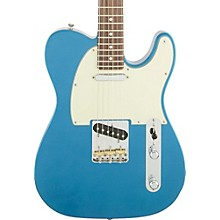 American Special Telecaster Electric Guitar with Rosewood Fingerboard Lake Placid Blue Rosewood Fingerboard