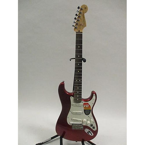 used fender american standard roland vg g5 stratocaster solid body electric guitar red guitar. Black Bedroom Furniture Sets. Home Design Ideas