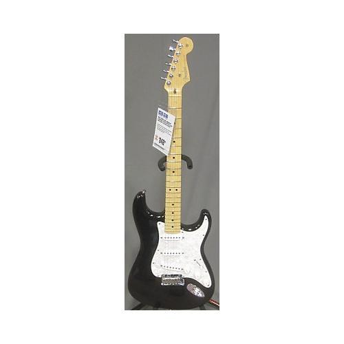Fender American Standard Stratocaster Black Solid Body Electric Guitar