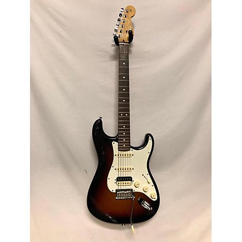 used fender american standard stratocaster hss shawbucker solid body electric guitar 3 tone. Black Bedroom Furniture Sets. Home Design Ideas