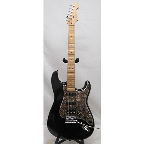 used fender american standard stratocaster hss solid body electric guitar black guitar center. Black Bedroom Furniture Sets. Home Design Ideas