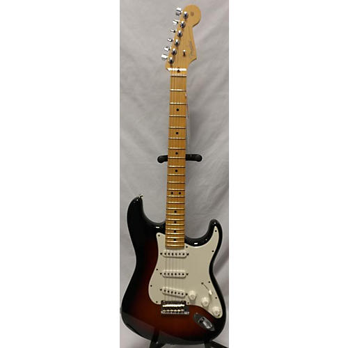 used fender american standard stratocaster solid body electric guitar 3 tone sunburst guitar. Black Bedroom Furniture Sets. Home Design Ideas