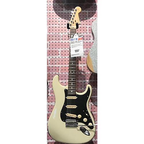 used fender american standard stratocaster solid body electric guitar cream guitar center. Black Bedroom Furniture Sets. Home Design Ideas