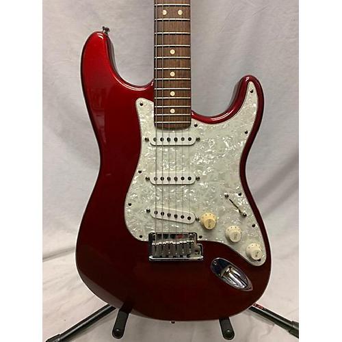 used fender american standard stratocaster solid body electric guitar red guitar center. Black Bedroom Furniture Sets. Home Design Ideas