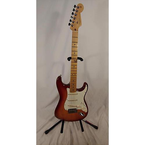used fender american standard stratocaster solid body electric guitar sienna sunburst guitar. Black Bedroom Furniture Sets. Home Design Ideas
