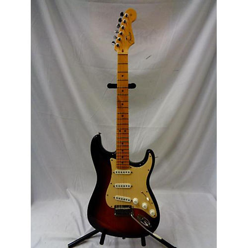 used fender american standard stratocaster solid body electric guitar sunburst guitar center. Black Bedroom Furniture Sets. Home Design Ideas