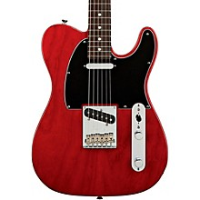 American Standard Telecaster Electric Guitar with Rosewood Fingerboard Transparent Crimson Red Rosewood Fingerboard